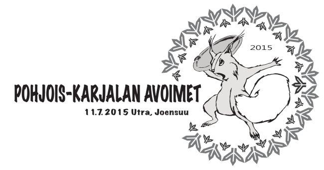 Pohjois-Karjalan Avoimet 2015