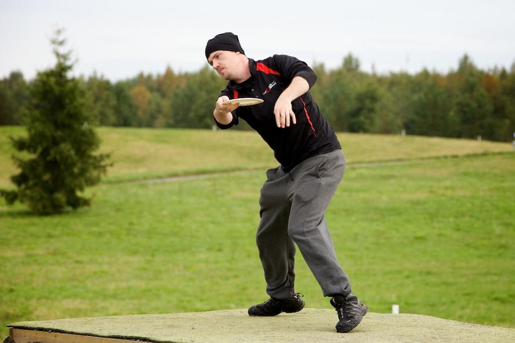 Frisbeegolfin SM-kisat Oulussa Disc Golf Finnish nationals 2014